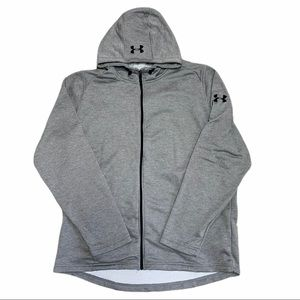 Under Armour Coldgear Full Zip  Jacket Fitted Gray